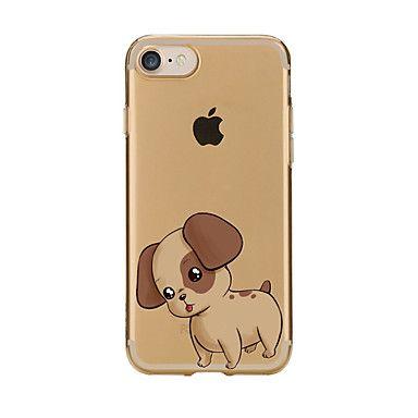 Til Gjennomsiktig Mønster Etui Bakdeksel Etui Hund Myk TPU til AppleiPhone 7 Plus iPhone 7 iPhone 6s Plus/6 Plus iPhone 6s/6 iPhone – NOK kr. 310