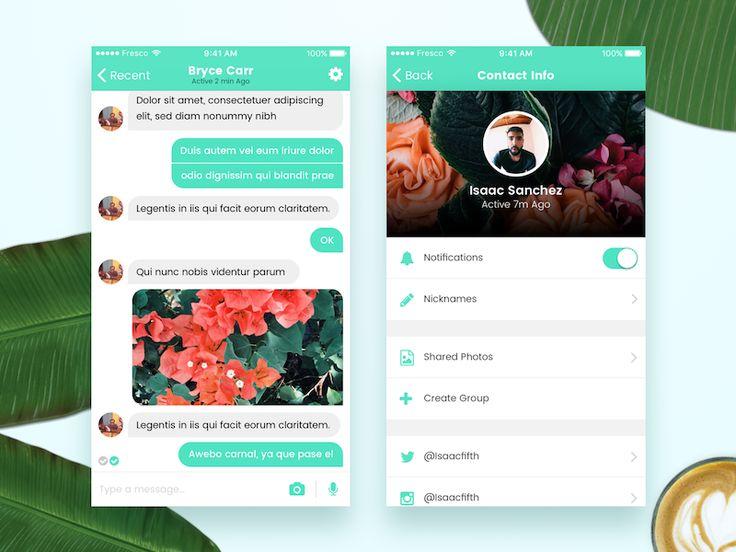 Fresco UI - Messaging App
