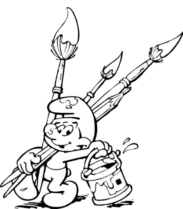 45 best images about coloring pages 27 smurf on pinterest - Free Colouring Pages For Children