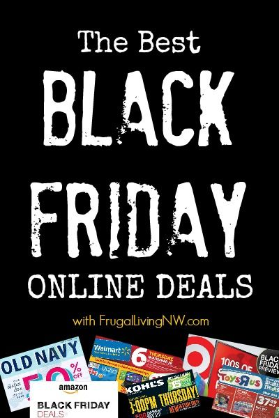 Best Black Friday Online Deals available -- this list will be updated throughout Black Friday weekend! #BlackFriday