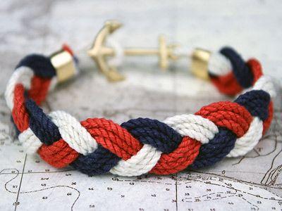 PURSELADYTOO - Kiel James Patrick Sailor JFK Rope Bracelet, $40.00 (http://www.purseladytoo.com/kiel-james-patrick-sailor-jfk-rope-bracelet/)