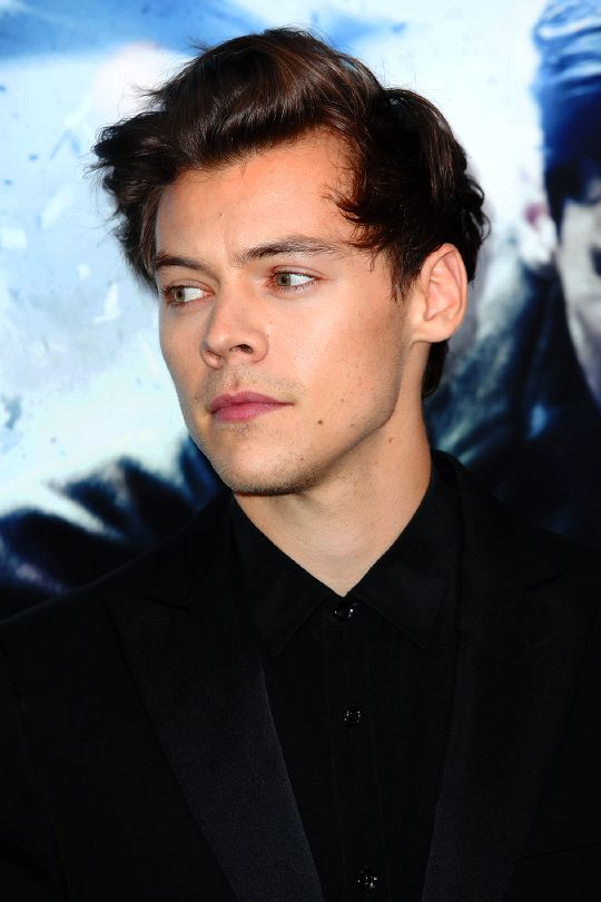 Harry Styles at the New York premiere of 'Dunkirk', July 18th.