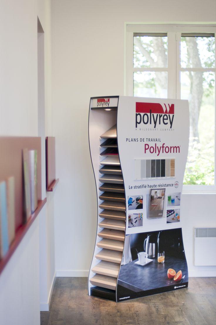Polyrey showroom #polyform #laminate
