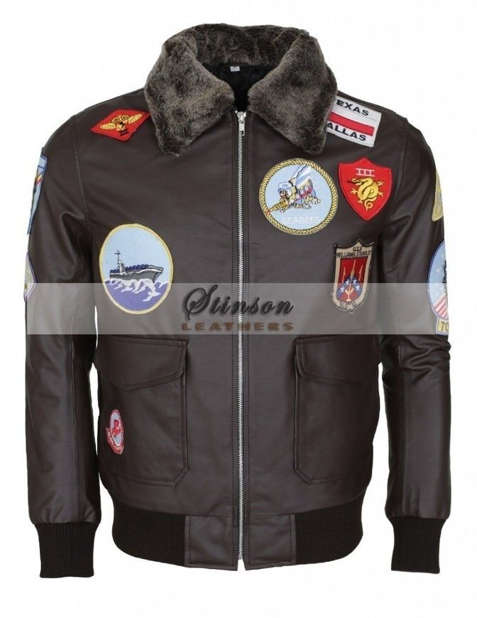 Men Brown Leather Jacket  http://www.stinsonleathers.co.uk/product/tom-cruise-top-gun-pete-maverick-brown-leather-jacket/