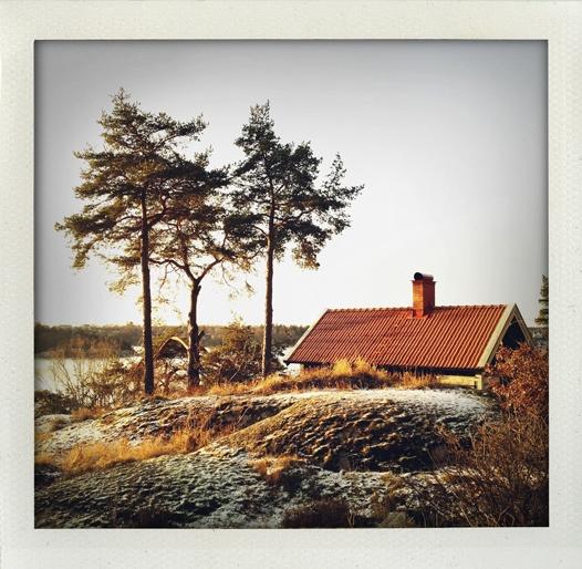 Early winter morning. Stockholm, Sweden.
