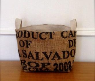 Large Coffee Sack Baskets