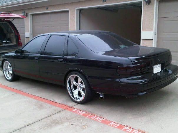 2010 Chevy Impala 20 Inch Rims 20 Inch Foose Nitrous