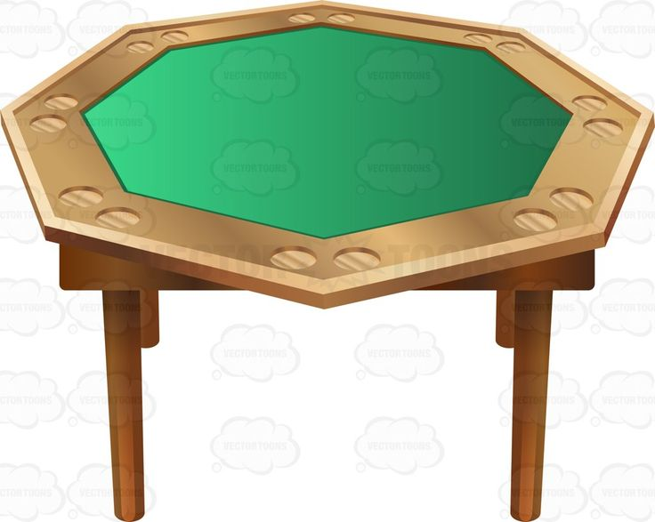 Superb Portable Octagon Poker Table