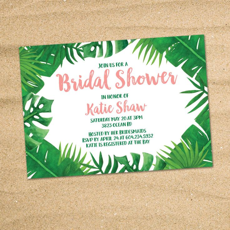 1000  ideas about tropical bridal showers on pinterest