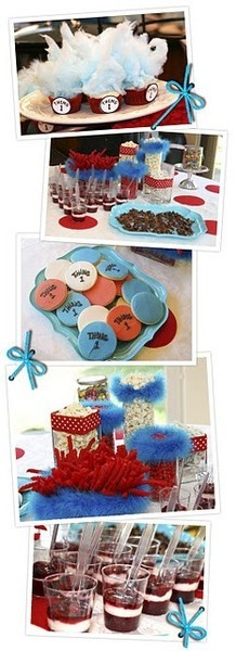 Dr. Seuss baby shower (cute ideas for a birthday too!) heather_gaudard