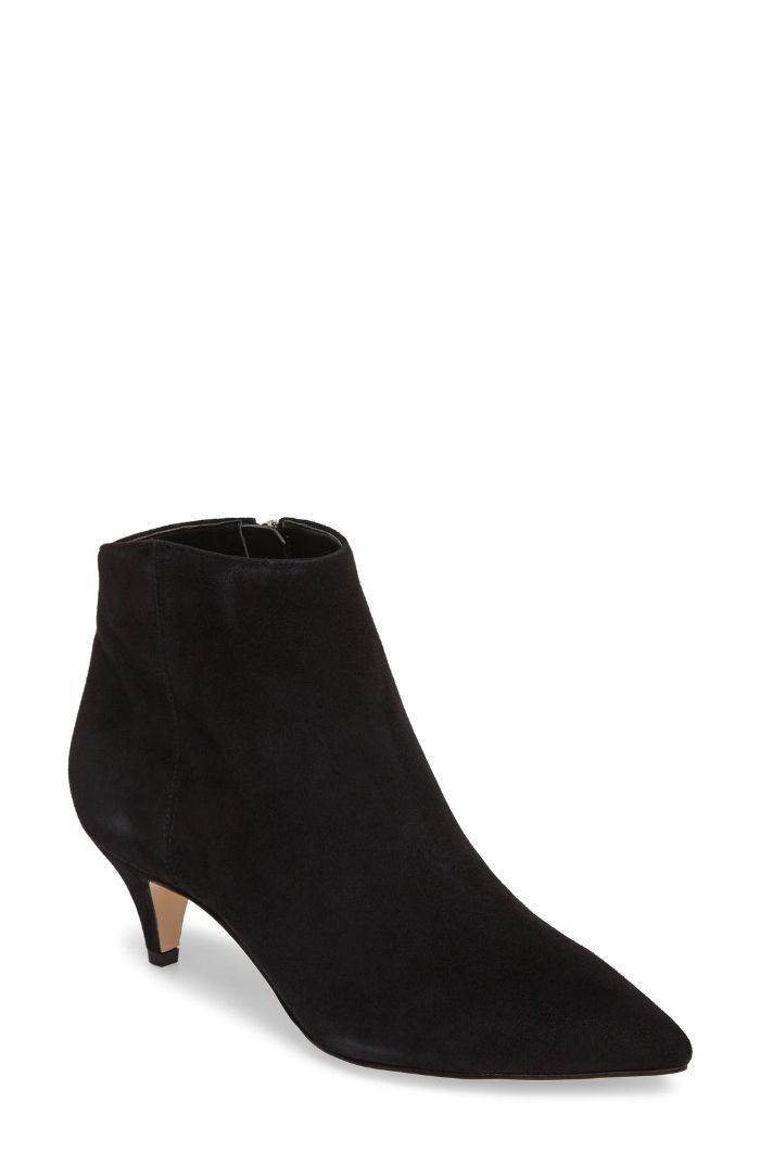 bd6227e30bb1 Sam Edelman Kinzey Pointy Toe Booties — not cute bc of low heel but better  with long slacks for winter shoes