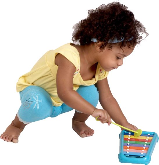 The Halilit Baby Xylophone is an affordable and fun to play little instrument. Great for developing listening skills.