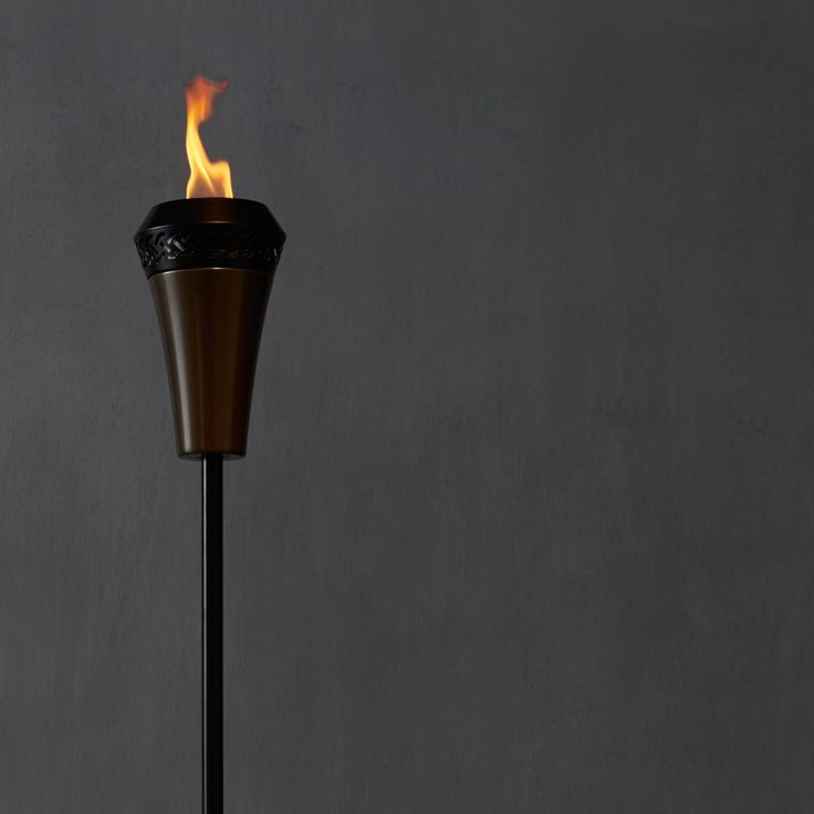 The Island King Flame Torch is our biggest flame yet! Five times bigger than the traditional tiki torch! Go big, go bold with the Island King! island king large flame torch; island king torch; large flame torch; backyard torches; garden torch