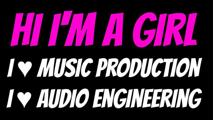 Hi I'm a girl, I love music production - Pt 2 Writing Track 1 of my next...