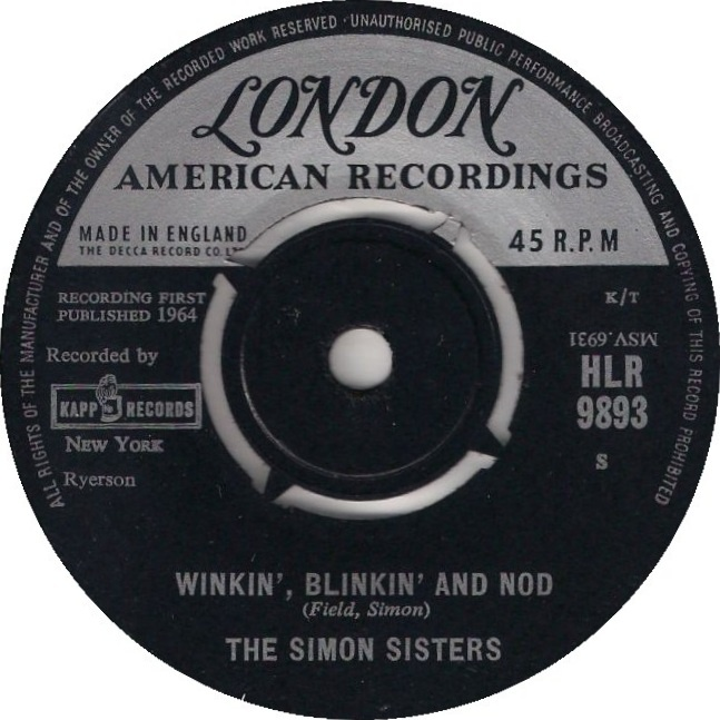 Winkin' Blinkin' and Nod: Winkin Blinkin And Nod, Favorite Music, Wynken Blynken, Kids Stuff, Memories Geek, Records Labels