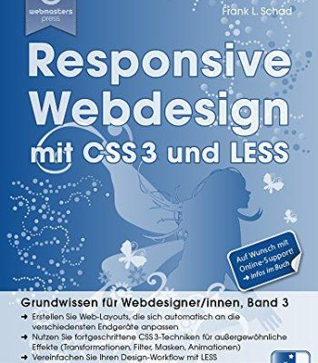 Responsive Webdesign Mit Css3 Und Less Pdf Codereference
