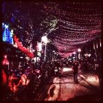 The Village by night. #montreal #quebec #street #city #photo #lights