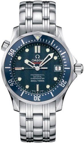 Omega Men's 2222.80.00 Seamaster 300M Chronometer - List price: $3,200.00 Price: $2,906.55 Saving: $293.45 (9%)