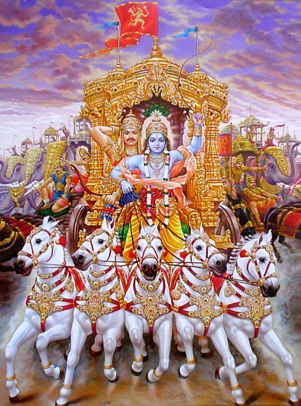 Sri Krishna as Parthasarathi