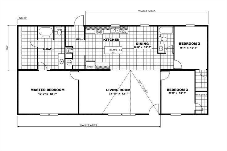 150 best images about floor plans on pinterest oakwood for Oakwood homes floor plans