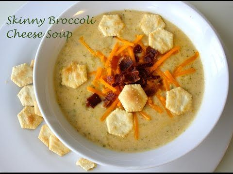 Healthy Broccoli Cheese Soup Recipe - http://2lazy4cook.com/healthy-broccoli-cheese-soup-recipe/