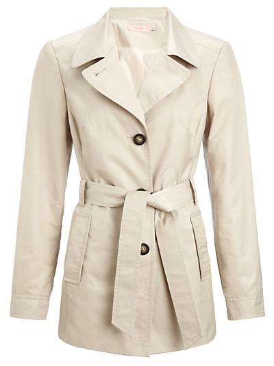 Cream short coat