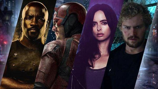 Rosario Dawson, Scott Glenn, Rachael Taylor e Jessica Henwick nel cast di The Defenders!