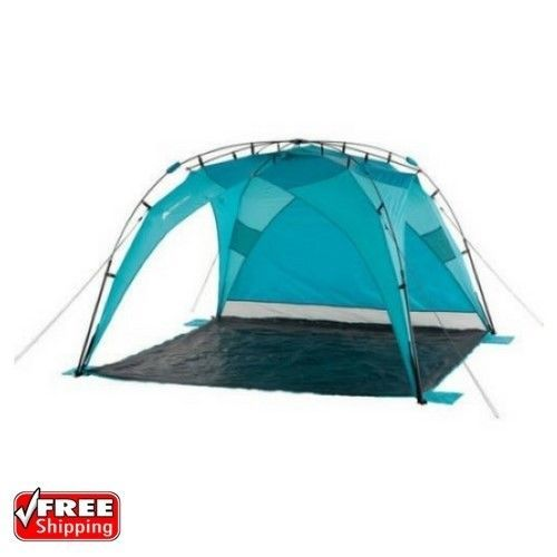 ozark trail sun shade tent instant beach outdoor shelter camping blue new