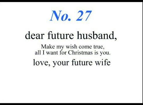 Dinge für deinen zukünftigen Ehemann zu beten