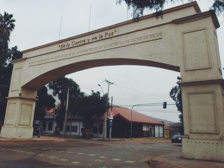 Arco del triunfo a los héroes del Atacama❤ Copiapó