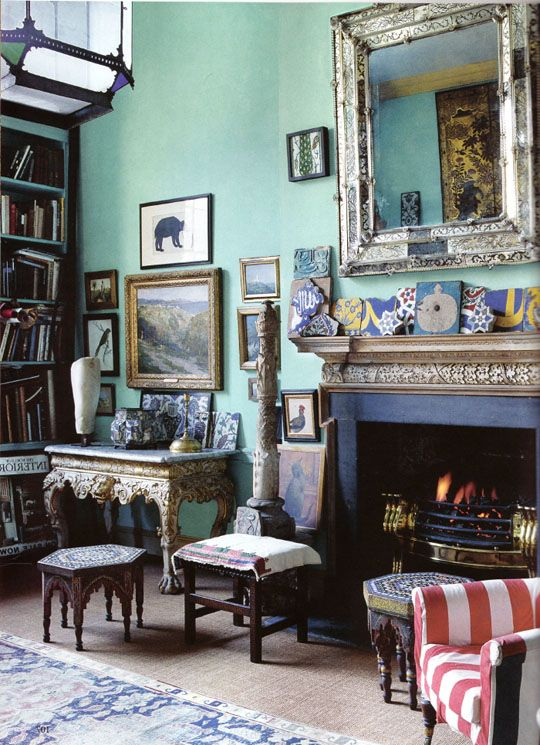 Peter Hinwood's Home - one of my favourite interiors