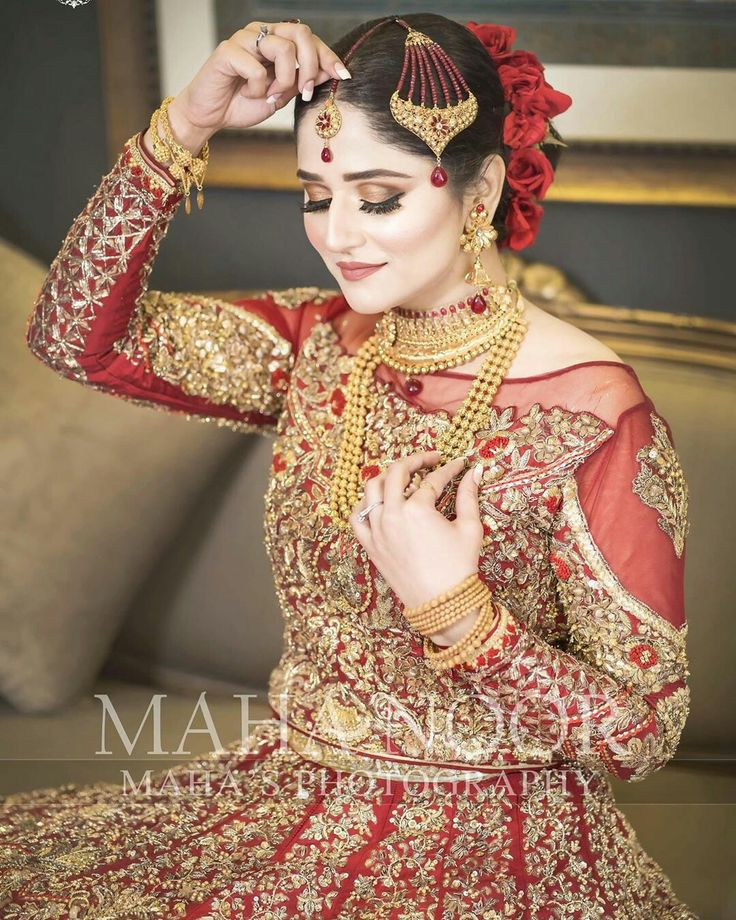 Pin by xox_queen_xox on Bridal makeup Pakistani bridal
