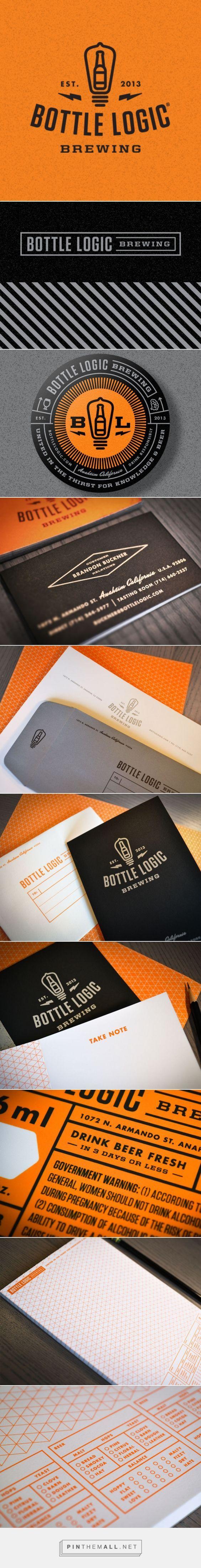 Map Of Oregon Breweries%0A Bottle Logic Brewing Branding   Fivestar Branding  u     Design and Branding  Agency  u     Inspiration Gallery