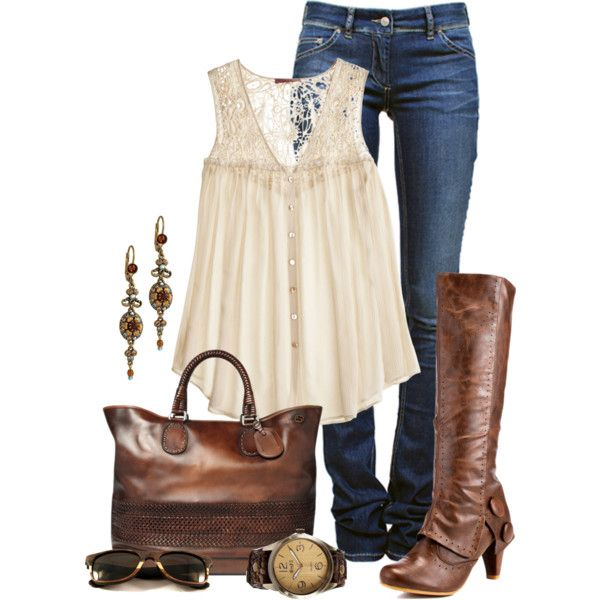 Fall Fashion Outfits 2012 | Leather and Lace | Fashionista Trends