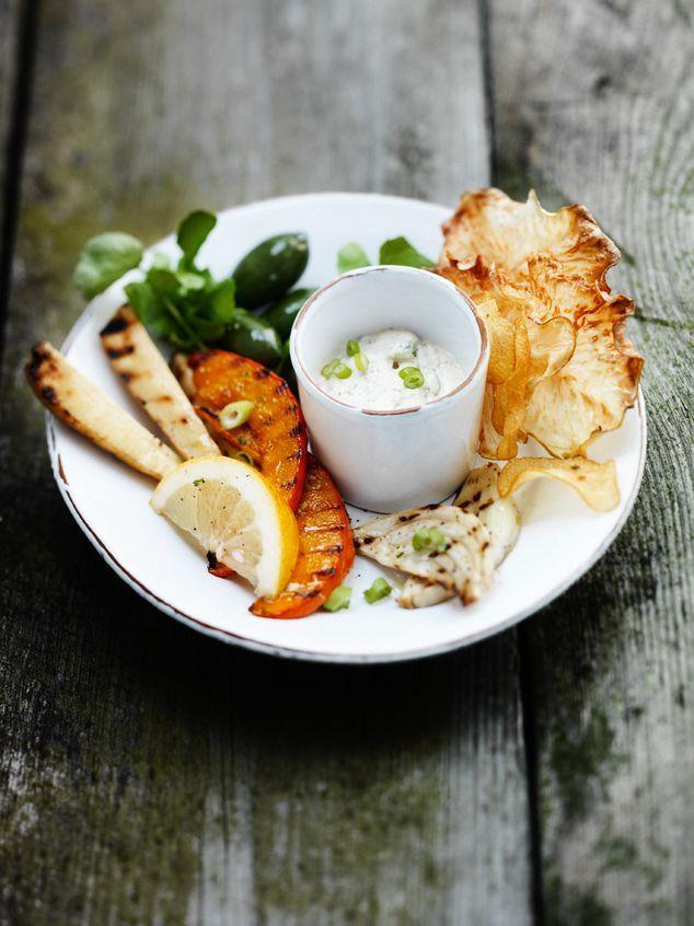 november-dipje met gegrilde groente | ZTRDG magazine
