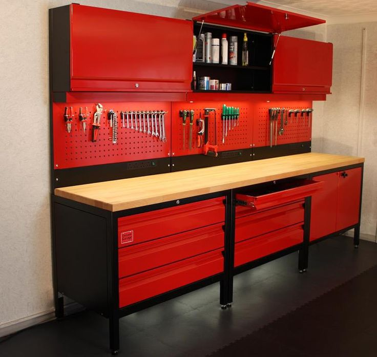 106 best work bench ideas images on pinterest driveway for Design your own garage workshop