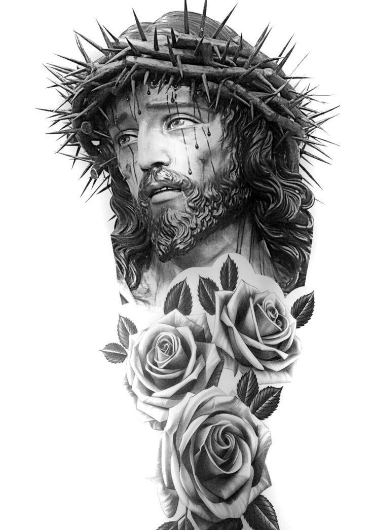 Resultado De Imagem Para Vitrais Igrejas Sketch Tattoo Tatuaje De Jesús Tatuaje De Cristo Tatuajes Religiosos