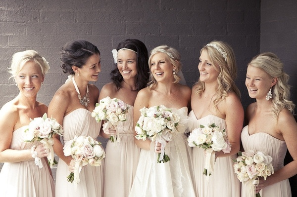 Bridesmaid Dresses Off White