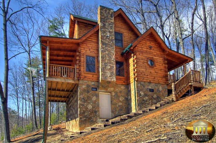 1000 ideas about mountain cabins on pinterest log homes - 3 bedroom cabins in gatlinburg tn cheap ...