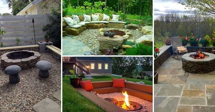 Best 25 backyard paradise ideas on pinterest backyard fire pits backyard patio and outdoor - Types fire pits cozy outdoor spaces ...