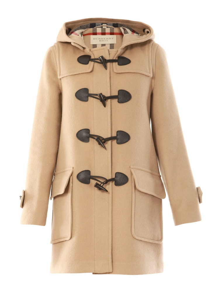 BURBERRY BRIT Double Duffel Coat. one of my favorites.