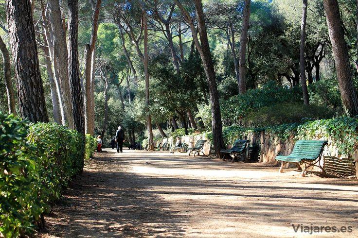 El parque del Laberinto de Horta presenta una extensa zona semiboscosa y bellos jardines.  #BCNwithKids #Barcelona #ParqueLaberinto
