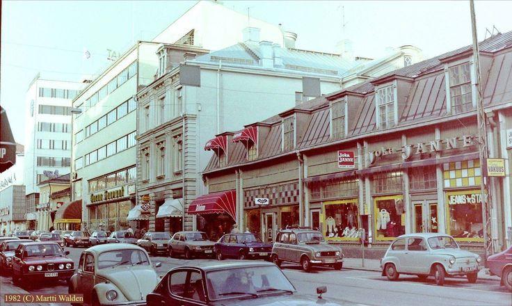 Kauppiaskatu, 1982