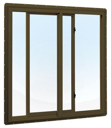 "Crestline 48"" x 36"" Vinyl Single Slider Window, Terra Bronze, Zo-e Hi. Alt. at Menards  Model Number: 4043625_48X36_VINYL_SG_T_BRZ_ZO-E  |  Menards® SKU: 4043625  $189.00"