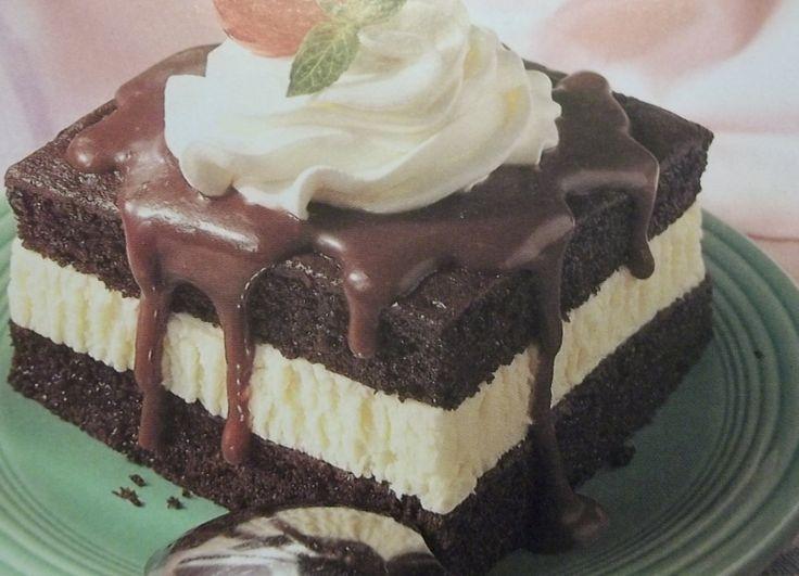 Hot Fudge Sundae Cake | New Year's Recipes | Pinterest