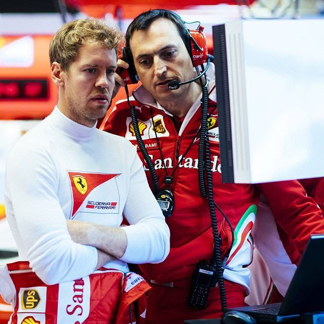 """Ferrari Engineer:""""Race control says they can't show Cartoon Nework anymore! How about Nickelodeon?"""""""