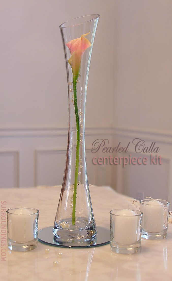 Best ideas about calla lillies centerpieces on
