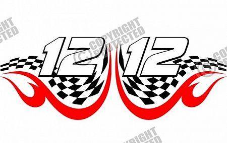 Free Sample Racing Design Numbers Vector Image Download