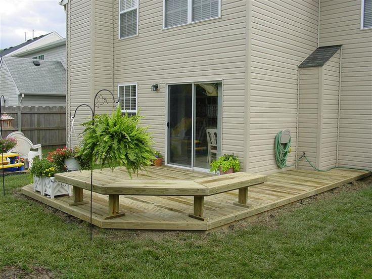 17 best ideas about back deck designs on pinterest back for Wood deck designs pictures