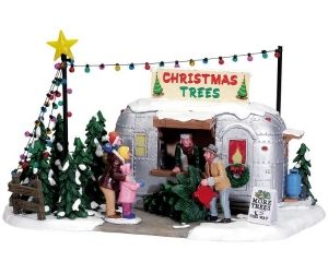 Lemax Signature Collection Vintage Tree Lot